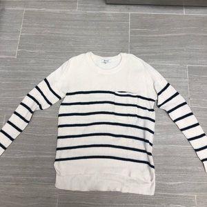 Madewell fisherman sweater size xs